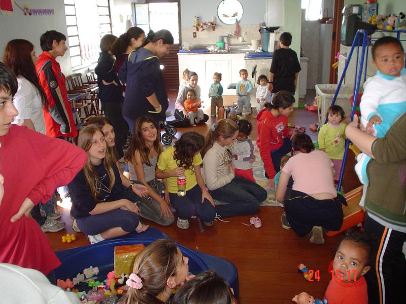 Grupo de Jovens em 2008.