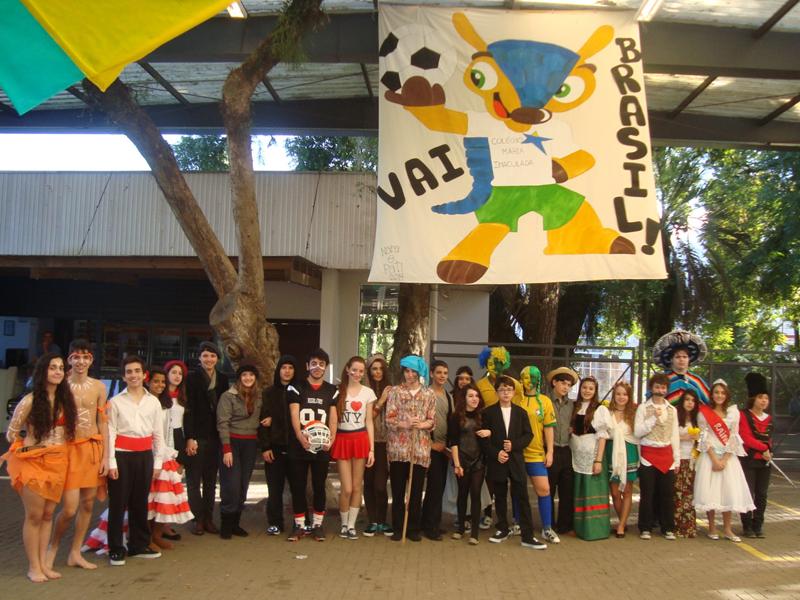 Copa do Mundo nas Salas - 2014.